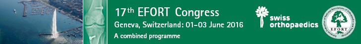 17th EFORT Congress Geneva 2016